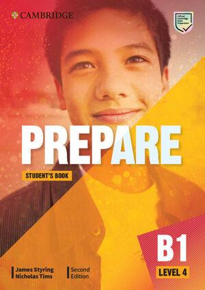 PREPARE SECOND EDITION. STUDENT'S BOOK. LEVEL 4