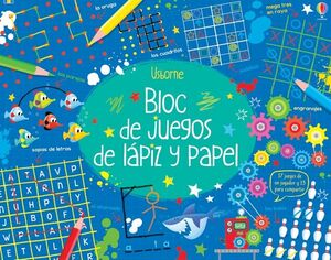 BLOC DE JUEGOS DE LÁPIZ Y PAPEL