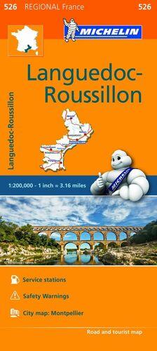MAPA REGIONAL LANGUEDOC-ROUSSILLON