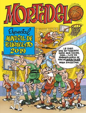 MORTADELO Y FILEMON: ALBUM ESPECIAL MUNDIAL BALONCESTO 2019