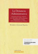 LA DENUNCIA ADMINISTRATIVA (PAPEL + E-BOOK)