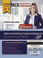 PACK AHORRO PREMIUM ADMINISTRATIVAS/ADMINISTRATIVOS DIPUTAC