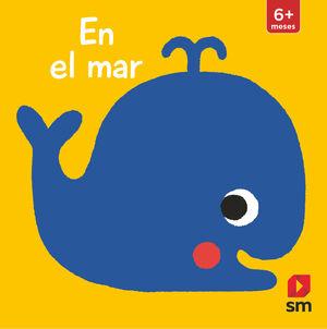 LIBRO TACTO EN EL MAR CON COLGADOR