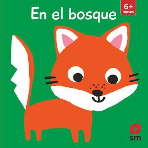 LIBRO TACTO EN EL BOSQUE CON COLGADOR