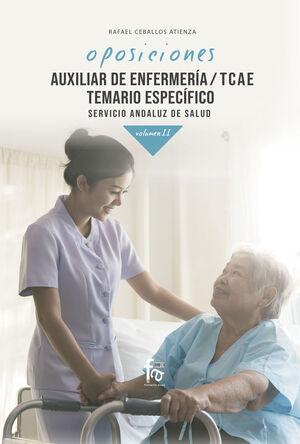 AUXILIAR DE ENFERMERIA;TCAE. TEMARIO ESPECIFICO SERVICIO