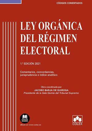 LEY ORGANICA DEL REGIMEN ELECTORAL
