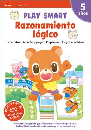 RAZONAMIENTO LOGICO 5AÑOS 21 PLAY SMART GAKKEN