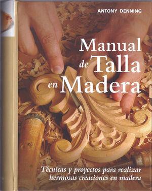 MANUAL DE TALLA EN MADERA
