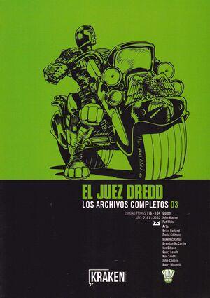 JUEZ DREDD 03 LOS ARCHIVOS COMPLETOS