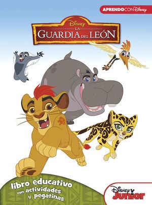 LA GUARDIA DEL LEON (LIBRO EDUCATIVO DISNEY CON ACTIVIDADES Y PEG