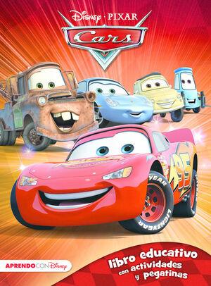 CARS. LIBRO EDUCATIVO CON ACTIVIDADES Y