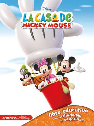 LA CASA DE MICKEY MOUSE 1 (LIBRO EDUCATIVO DISNEY CON ACTIVIDADES
