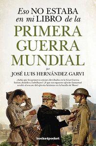 ESO NO ESTABA (B4P) LIBRO DE LA PRIMERA GUERRA MUNDIAL