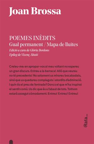 POEMES IN+DITS: GUAL PERMANENT / MAPA DE LLUITES