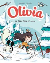 OLIVIA. LA GRAN BOLA DE LANA