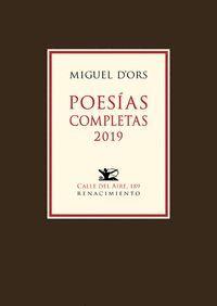 POESIAS COMPLETAS 2019