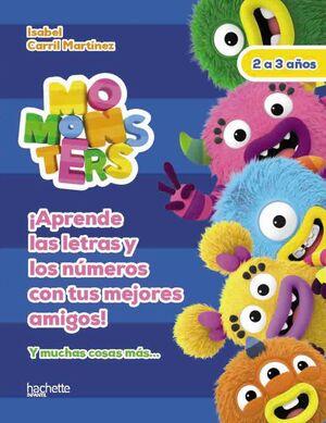 LETRAS Y NÚMEROS CON LOS MOMONSTERS, 2-3 AÑOS