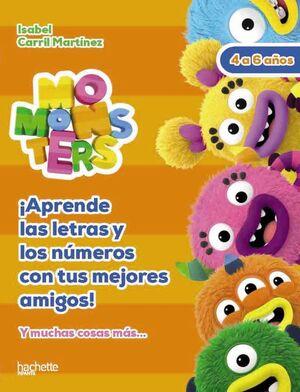 LETRAS Y NÚMEROS CON LOS MOMONSTERS, 4-5 AÑOS