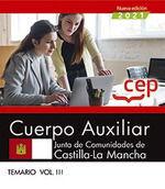 CUERPO AUXILIAR JUNTA DE COMUNIDADES DE CASTILLA LA MANCHA TEMARIO III