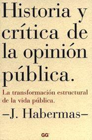 HISTORIA Y CRITICA DE LA OPINION PUBLICA.