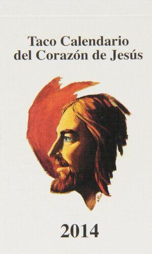TACO CALENDARIO DEL CORAZÓN DE JESÚS CLÁSICO 2014