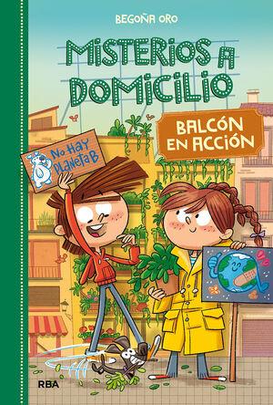 MISTERIOS A DOMICILIO 8. BALCON EN ACCION