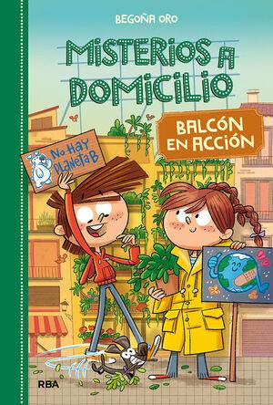 MISTERIOS A DOMICILIO #8. BALCÓN EN ACCIÓN