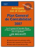 PLAN GENERAL DE CONTABILIDAD 2007. BORRADOR