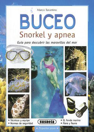BUCEO. SNORKEL Y APNEA