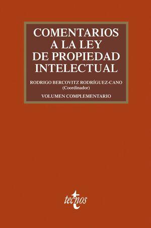 COMENTARIOS A LA LEY DE PROPIEDAD INTELECTUAL