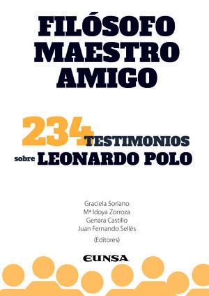 FILOSOFO, MAESTRO Y AMIGO