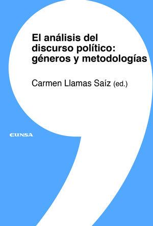 EL ANALISIS DEL DISCURSO POLITICO: GENEROS Y METODOLOGIAS