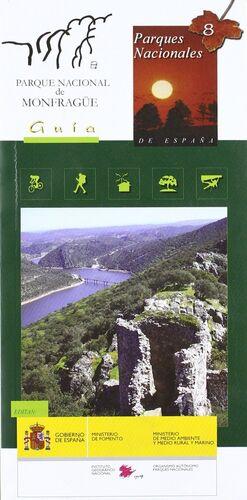 MAPA-GUÍA DEL PARQUE NACIONAL DE MONFRAGÜE
