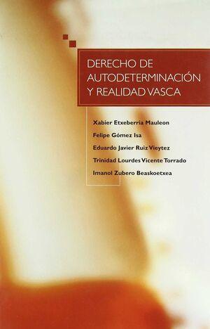 DERECHO DE AUTODETERMINACIÓN Y REALIDAD VASCA
