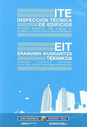 ITE, INSPECCIÓN TÉCNICA DE EDIFICIOS = EIT, ERAIKINEN IKUSKARITZA TEKNIKOA