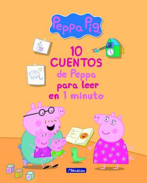 10 CUENTOS DE PEPPA PARA LEER EN 1 MINUTO