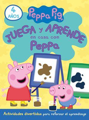 JUEGA Y APRENDE EN CASA CON PEPPA. TU CUADERNO DE VACACIONES (4 AÑOS)