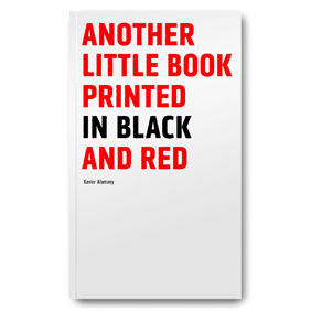 ANOTHER LITTLE BOOK PRINTED IN BLACK AND RED