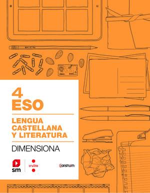 CUADERNO LENGUA CASTELLANA 4ºESO. CONSTRU¤M 2019. CATALUÑA