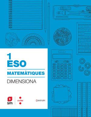 QUADERN MATEM+TIQUES 1R ESO. CONSTRUI¤M 2019