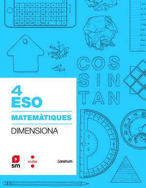 QUADERN MATEM+TIQUES 4T ESO. CONSTRUI¤M 2019