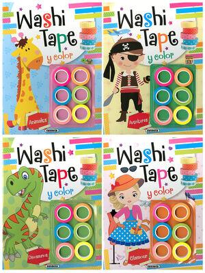 WASHI TAPE COLOR (4 TITULOS)