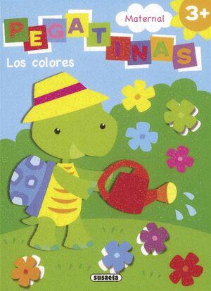 MATERNAL PEGATINAS. LOS COLORES