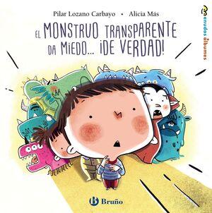 EL MONSTRUO TRANSPARENTE DA MIEDO... IDE VERDAD!