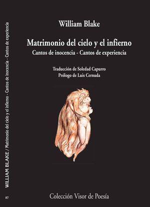 MATRIMONIO DEL CIELO Y EL INFIERNO.CANTOS INOCENCIA.CANTOS EXPERI