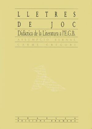LLETRES DE JOC