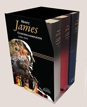 ESTUCHE CUENTOS COMPLETOS- HENRY JAMES