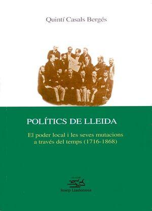 POLÍTICS DE LLEIDA.