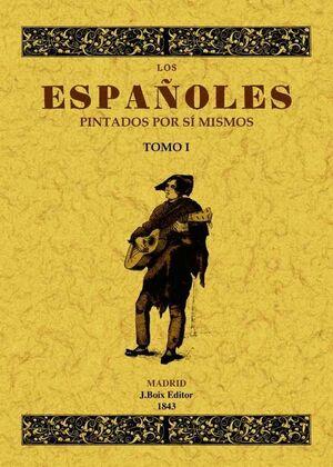 LOS ESPAÑOLES PINTADOS POR SÍ MISMOS (2 TOMOS)