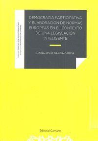 DEMOCRACIA PARTICIPATIVA Y ELABORACION DE NORMAS EUROPEAS